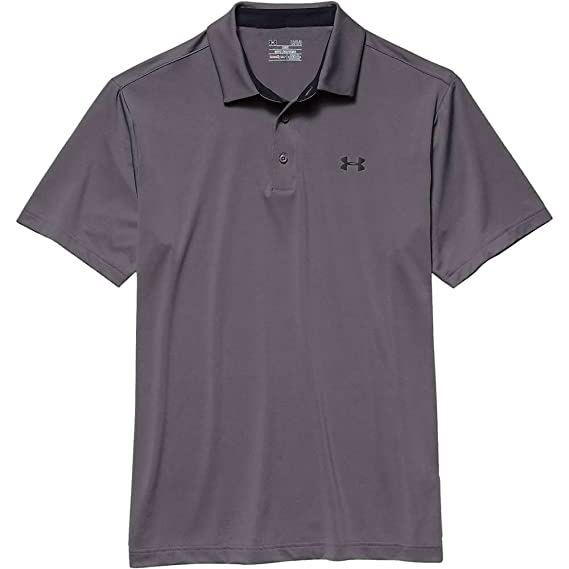Under Armour Mens Playoff Polo, Graphite/Black, XX-Large: Amazon ...