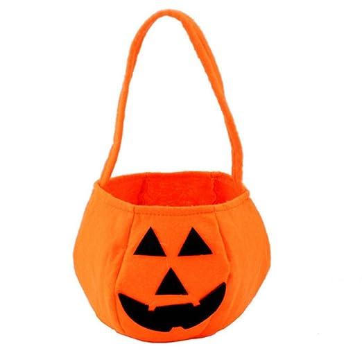 Demarkt Bolso de la Calabaza Nonwovens Caramelo Bolsas Calabaza de Halloween Bolsa Bolsa de la Compra Decoración de Halloween para Niños