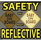 Baby on Board Magnet Reflective