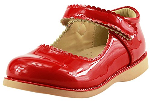 The Doll Maker Girl's Red Patent Mary Jane