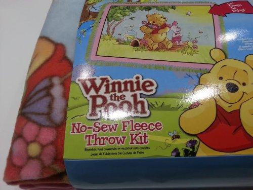 Disney Winnie The Pooh No Sew Fleece Blanket Throw Kit