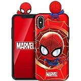 マーベル アベンジャーズ Marvel Avengers フィギュア 鏡ミラー·カード収納ケース Figure Mirror Card Case (Samsung Galaxy S9, スパイダーマン Spider Man) [並行輸入品]