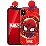 Marvel Avengers Figure Mirror Card Case for Samsung Galaxy S9+ Plus (Spider Man)