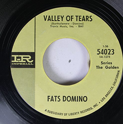 Fats Domino 45 RPM Valley Of Tears / Let The Four Winds Blow