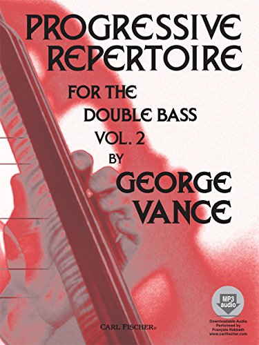 O5428 - Progressive Repertoire for the Double Bass - Vol. (Progressive Repertoire Double Bass)