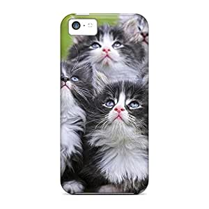 [BbM49973lUiC] - New 5 Cute Kittens Protective Iphone 5c Classic Hardshell Cases