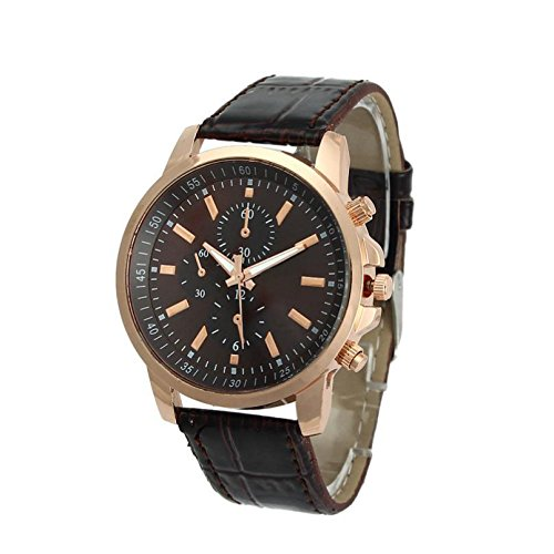 Excellent Quality OTOKY Luxury Quartz Watches Men's Fashion Geneva Quartz Clock Leather Strap Wristwatches Relogio Masculino