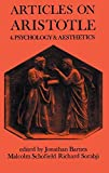 Articles on Aristotle: Volume 4: Psychology and Aesthetics