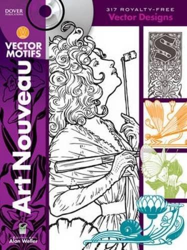 - Art Nouveau Vector Motifs (Dover Electronic Clip Art)
