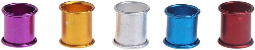 100 Anelli in Alluminio per piccioni di Uccelli congchuaty