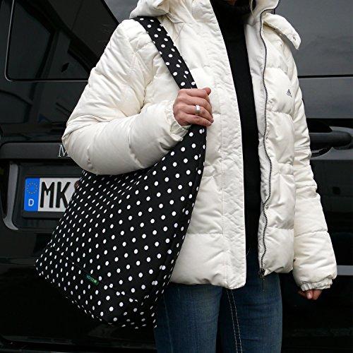 """NOVELY TN-43 loopbag XXL borsone da viaggio borsa Custodia manico""""impy Custodia Borsa da donna a forma di gufo colorato sinlook"""