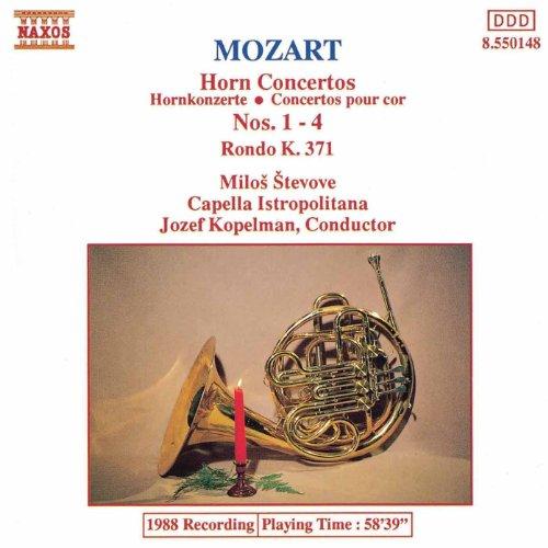 Mozart: Horn Concertos Nos. 1-4 / Rondo in E Flat Major