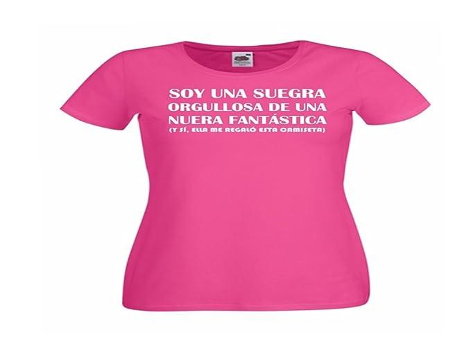 Camisetas divertidas Child Suegra Orgullosa de una nuera fantastica, y si, Ella me Regalo