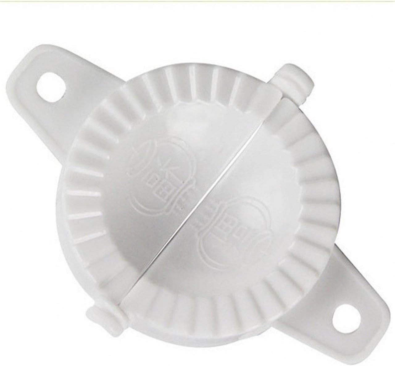 SZXCX Dumplings Maker Mold Dumpling Device Package Dumpling Mold Creative Kitchen Gadgets New Dumpling Mold Maker-White