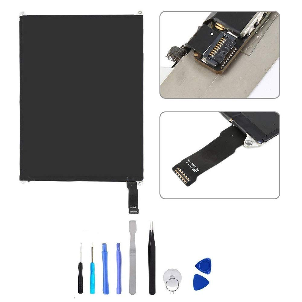 BESTeck LCD Replacement Screen Display Compatible for Apple iPad Mini 1/2 A1489 A1490 A1491 A1599 A1600 A1601 with Tools by BESTeck (Image #1)
