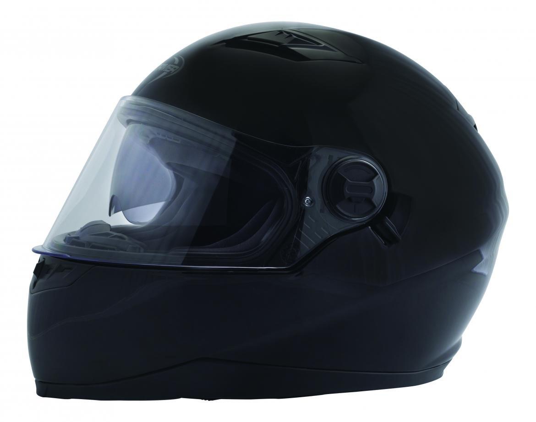 Stormer casco integral Pusher 2 Plus Pinlock talla negro barnizado, talla M STORMPUSH2NV