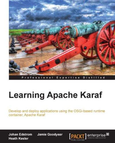 Learning Apache Karaf Pdf