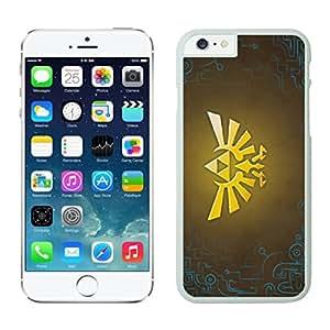NEW DIY Unique Designed Case For iphone 6 plus Zelda iphone 6 plus White 5.5 TPU inch Phone Case 451