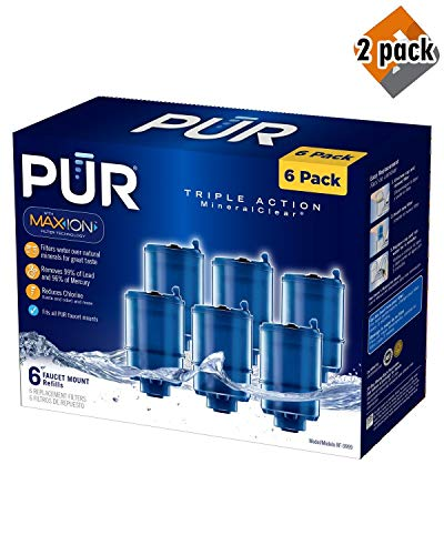 (PUR MineralClear Faucet Refill RF-9999-6 - 2 Pack)