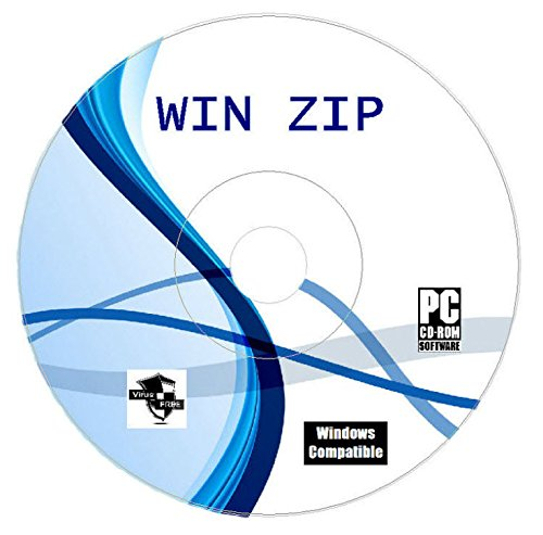 Winzip Zip Rar Arhive Compression Unzipping Software CD Disk For