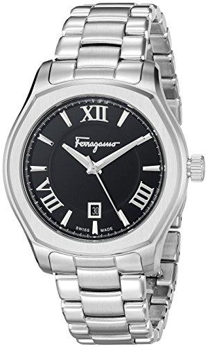 Salvatore-Ferragamo-Mens-FQ1920015-Lungarno-Analog-Display-Quartz-Silver-Watch