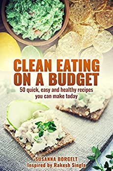 Clean Eating Budget healthy recipes ebook product image