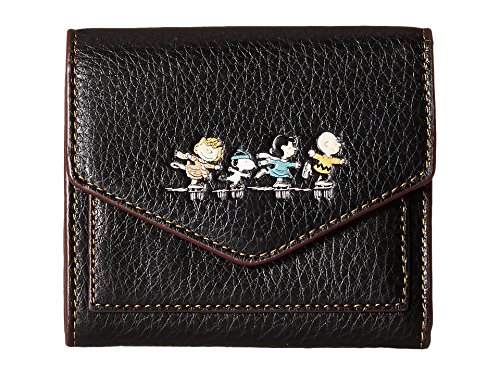 COACH Women's Box Program Snoopy Small Wallet Qb/Black One Size by Coach