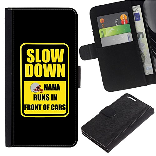 [SLOW DOWN! Basketball Nana runs in front of cars] For SAMSUNG Galaxy S4 mini (NOT FOR S4) / i9190 / i9192 PU Flip Leather Wallet Holsters Pouch Skin Case