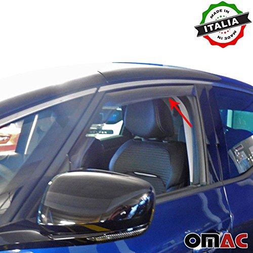 Omac GmbH Renault Scenic IV Windabweiser Regenabweiser 2 tlg Satz Vorne ab 2016