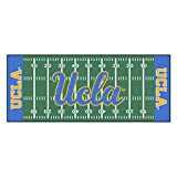 Fanmats NCAA UCLA Bruins Nylon Face Football Field Runner