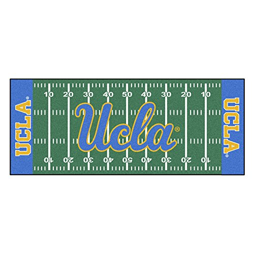 (FANMATS NCAA UCLA Bruins Nylon Face Football Field Runner )