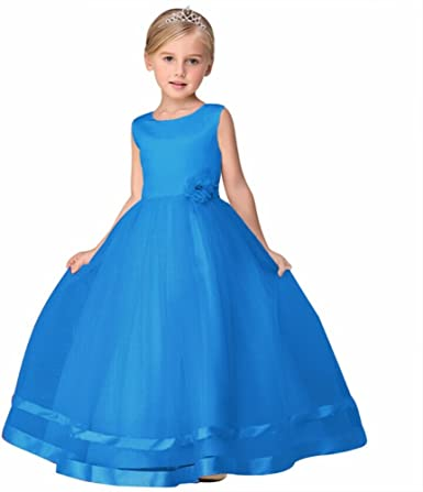 Amazon.com: Infantil Niña Teenage Formal Vestido De Fiesta ...