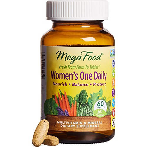 MegaFood Women's One Daily Tablets, 60 Count