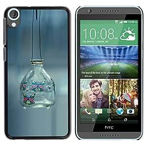 "For HTC Desire 820 , S-type minimalismo fuera banka fon"" - Arte & diseño plástico duro Fundas Cover Cubre Hard Case Cover"