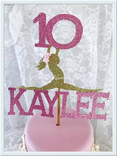 Amazon.com: Gymnastics Cake Topper: Handmade