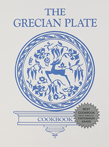 The Grecian Plate by St. Barbara Greek Orthodox Church, Durham N.C. Hellenic Ladies Society