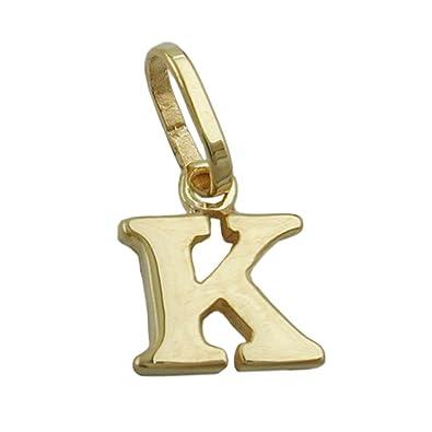 Pendant 430860 - Initiale 'K' 9ct Gold lvrgJ50j3
