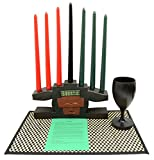 Cheap Kwanzaa Mask Candleholder & Celebration Set – Made in Ghana