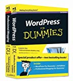 img - for WordPress For Dummies, 3rd Edition and Professional Blogging For Dummies, Book Bundle by Lisa Sabin-Wilson (2011-02-15) book / textbook / text book