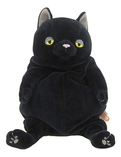Amazon.com: Tiene el gato felpa Negro (M): Toys & Games
