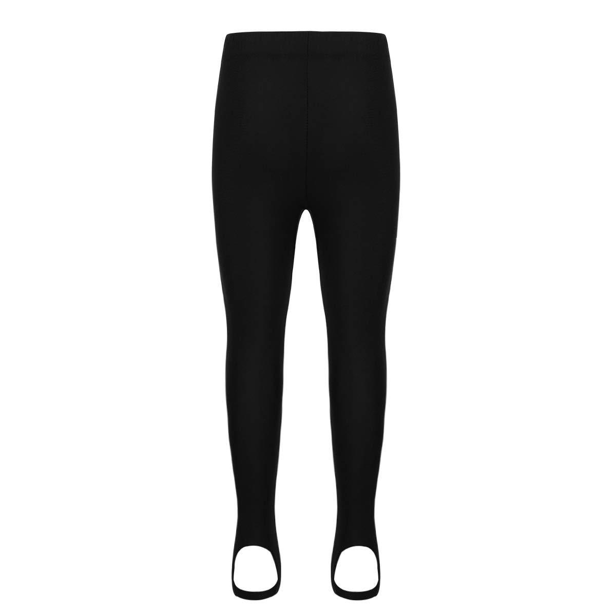 zdhoor Kids Toddler Boys Girls Ballet Dance Stirrup Tights Yoga Practice Leggings Gymnastics Foot Pants