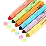 MyLifeUNIT Gel Highlighter Set, Solid Gel Highlighters Assorted Colors, Pack of 6