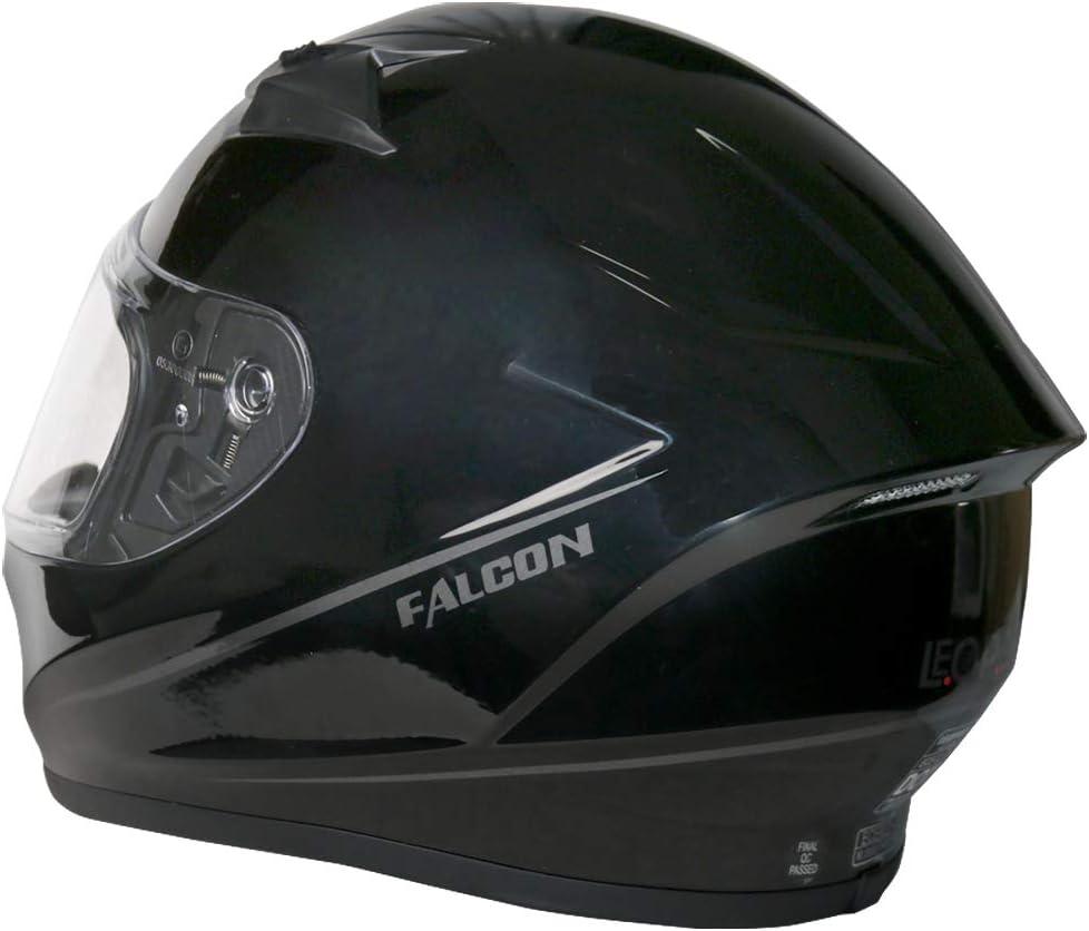 Hawk Blue S 55-56cm Leopard LEO-817 Falcon Full Face Motorbike Motorcycle Helmet Road Legal