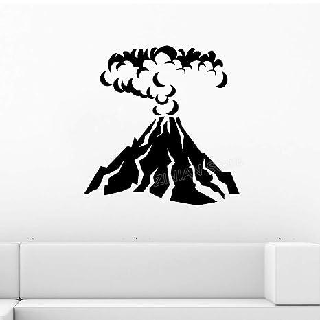 Vinilo volcánico pegatinas de pared decoración para el hogar ...