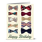 Best Note Card Cafe Birthday Cards - 24 Birthday Note Cards - Dapper Bow Tie Review