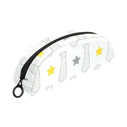 MALPLENA - Estuche de piel para lápices de corbata: Amazon.es ...