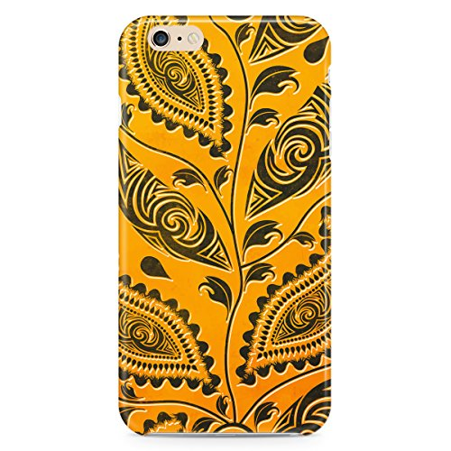 Phone Case For Apple iPhone 5C - African Tribal Leaves Lightweight Slim
