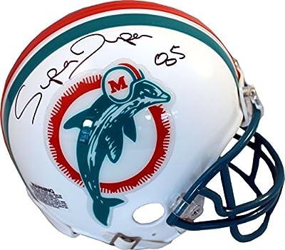 Mark Duper Autographed Miami Dolphins Mini Helmet