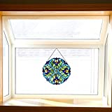 Mini Halston Stained Glass Panel: 12 Inch