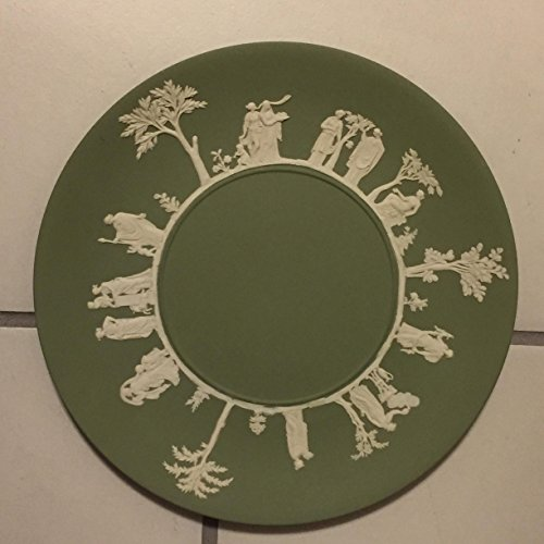 Green Wedgwood Jasperware Plate